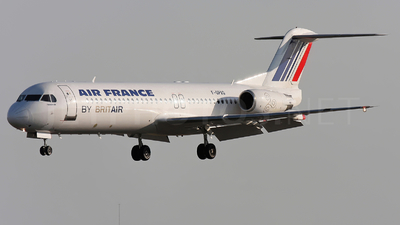 F-GPXG - Fokker 100 - Air France (Brit Air)