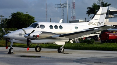 A picture of N640DF - Beech C90A King Air - [LJ1312] - © Gerard A. Mark