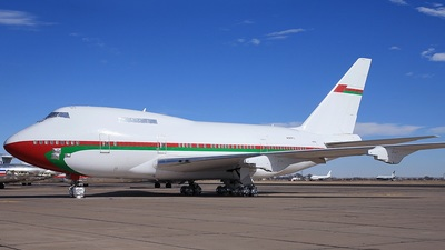 N747FU - Boeing 747SP-27 - Oman - Royal Flight
