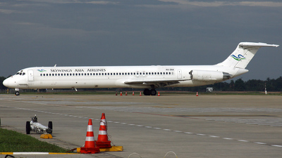 XU-ZAA - McDonnell Douglas MD-83 - Skywings Asia Airlines