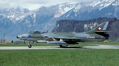 J-4109 - Hawker Hunter F.58 - Switzerland - Air Force