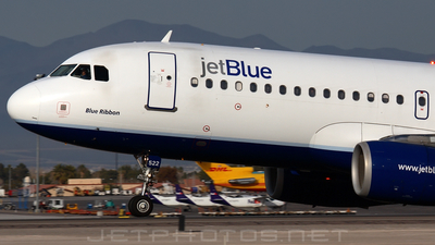 N522JB - Airbus A320-232 - jetBlue Airways
