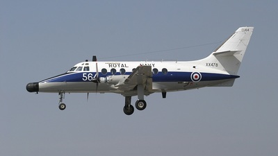 XX478 - British Aerospace Jetstream T.2 - United Kingdom - Royal Navy