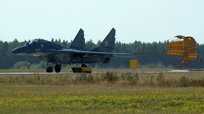40 - Mikoyan-Gurevich Mig-29 Fulcrum - Poland - Air Force