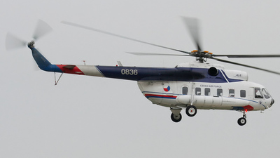 0836 - Mil Mi-8PS Hip - Czech Republic - Air Force