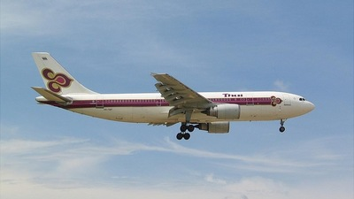 HS-TAF - Airbus A300B4-601 - Thai Airways International