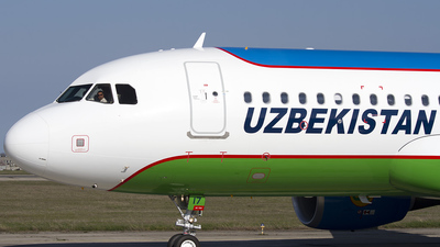 UK-32017 - Airbus A320-214 - Uzbekistan Airways