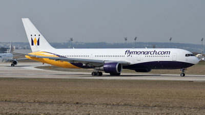 G-DIMB - Boeing 767-31K(ER) - Monarch Airlines