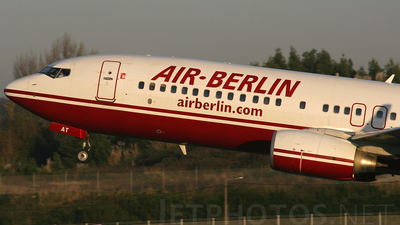D-ABAT - Boeing 737-86J - Air Berlin
