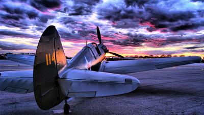 N740RB - Curtiss P-40N Warhawk - Private
