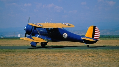 N16M - Beechcraft D17S Staggerwing - Private