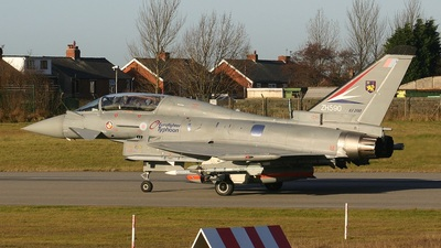 ZH590 - Eurofighter Typhoon 2000(T) - United Kingdom - Royal Air Force (RAF)