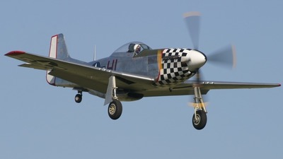G-CBNM - North American P-51D Mustang - Private