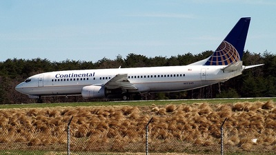 N17245 - Boeing 737-824 - Continental Airlines