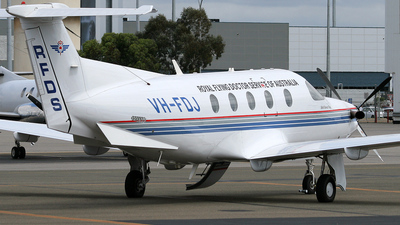 VH-FDJ - Pilatus PC-12/45 - Royal Flying Doctor Service of Australia (Central Section)