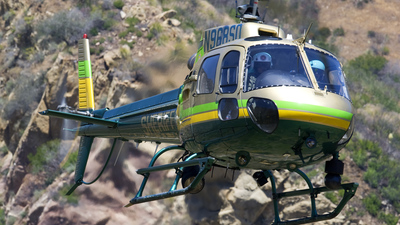 N968SD - Eurocopter AS 350B2 SuperStar - United States - Los Angeles County Sheriff