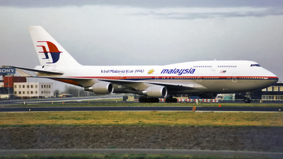 9M-MHM - Boeing 747-4H6(M) - Malaysia Airlines