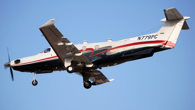 A picture of N779PC - Pilatus PC12/47 -  - © Alejandro Hern�ndez Le�n