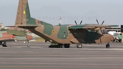 800 - CASA C-212-200 Aviocar - Zimbabwe - Air Force