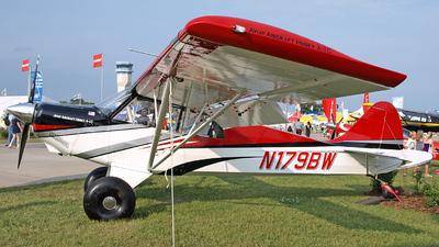 A picture of N179BW - Aviat A1C180 Husky - [3029] - © Steve Homewood