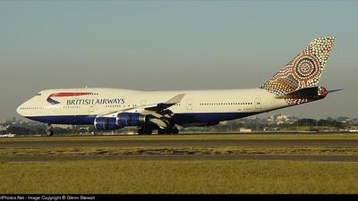 G-BNLK - Boeing 747-436 - British Airways