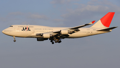 JA8081 - Boeing 747-446 - Japan Airlines (JAL)