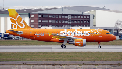 D-AVWF - Airbus A319-112 - Skybus Airlines