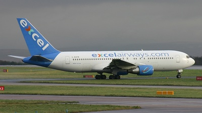 G-BOPB - Boeing 767-204(ER) - Excel Airways