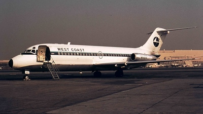 N9103 - McDonnell Douglas DC-9-14 - West Coast Airlines