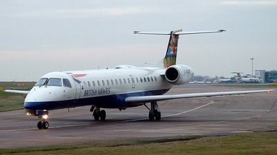 G-EMBF - Embraer ERJ-145EU - British Airways (CitiExpress)