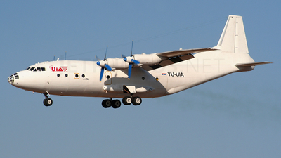 YU-UIA - Antonov An-12BK - United International Airlines