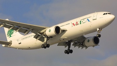 F-OHLN - Airbus A300B4-605R - Middle East Airlines (MEA)