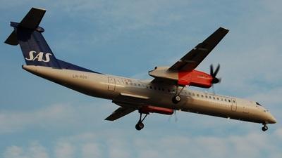LN-RDD - Bombardier Dash 8-Q402 - Scandinavian Commuter (SAS)