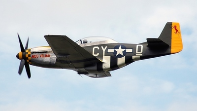 NX251RJ - North American TF-51D Mustang - Private