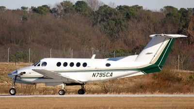 N795CA - Beechcraft 200 Super King Air - Private