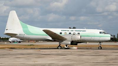 N154JR - Convair CV-340 - Coastal Air Transport