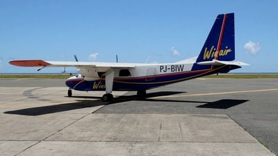 PJ-BIW - Britten-Norman BN-2A-26 Islander - Winair - Windward Islands Airways