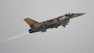 833 - Lockheed Martin F-16I Sufa - Israel - Air Force