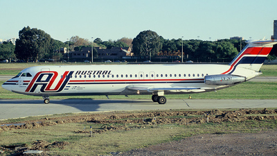 LV-JNT - British Aircraft Corporation BAC 1-11 Series 521FH - Austral L�neas A�reas