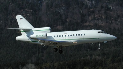 OE-ILS - Dassault Falcon 900B - Tyrolean Jet Services