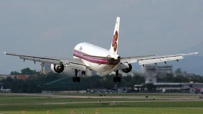 HS-TAA - Airbus A300B4-601 - Thai Airways International