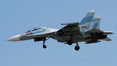 8533 - Sukhoi Su-30MK2 - Vietnam - Air Force