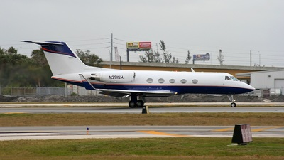 N391SH - Gulfstream G-III - Private
