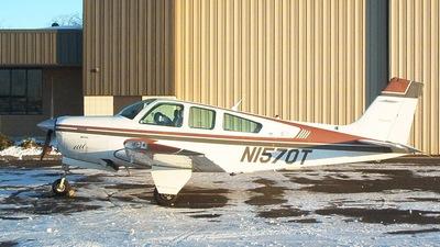 N1570T - Beechcraft F33A Bonanza - Private