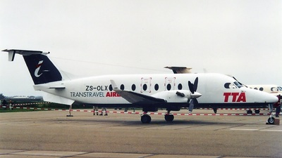 ZS-OLX - Beech 1900D - Trans Travel Airlines (TTA) (Rossair Europe)