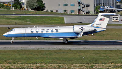 02-01863 - Gulfstream C-37A - United States - US Army