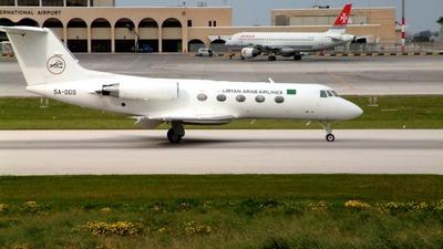 5A-DDS - Gulfstream G-II - Libyan Arab Airlines