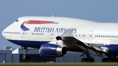 G-BNLU - Boeing 747-436 - British Airways