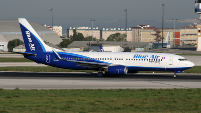 YR-BIC - Boeing 737-8BK - Blue Air