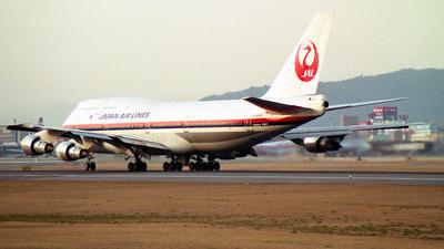 JA8187 - Boeing 747-346 - Japan Airlines (JAL)